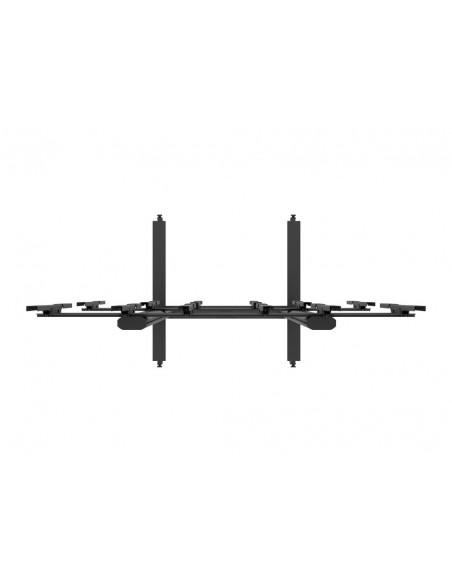 Multibrackets M Public Video Wall Stand Portrait 6-Screens 40-55'' Black Multibrackets 7350073731824 - 6