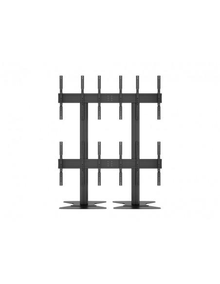 Multibrackets M Public Video Wall Stand Portrait 6-Screens 40-55'' Black Multibrackets 7350073731824 - 14