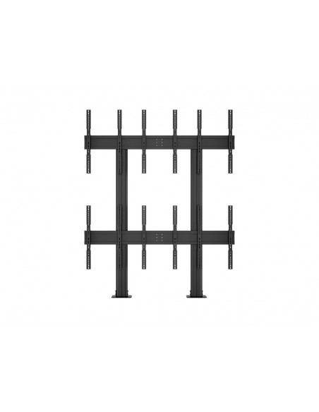 Multibrackets M Public Video Wall Stand Portrait 6-Screens 40-55'' Black Multibrackets 7350073731824 - 16