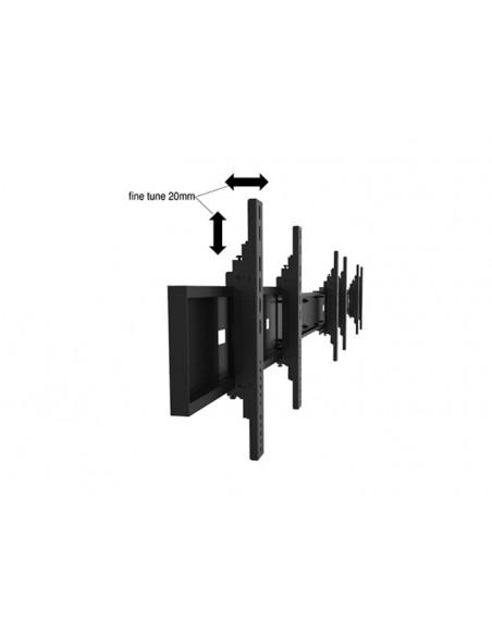 """Multibrackets 1824 kyltin näyttökiinnike 139.7 cm (55"""") Musta Multibrackets 7350073731824 - 18"""
