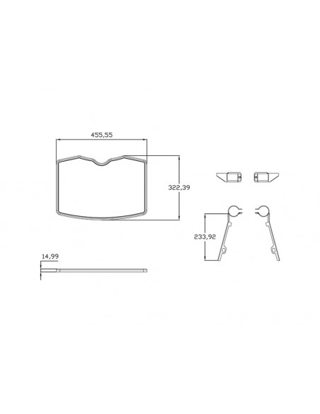 Multibrackets 2326 monitorikiinnikkeen lisävaruste Multibrackets 7350073732326 - 8