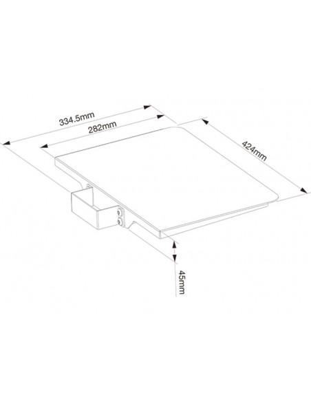 Multibrackets 2388 monitorikiinnikkeen lisävaruste Multibrackets 7350073732388 - 3