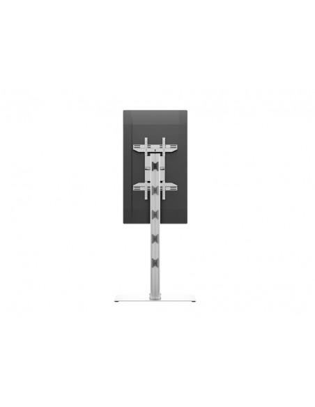 Multibrackets M Display Stand 180 Single Silver w. Floorbase Multibrackets 7350073732418 - 16