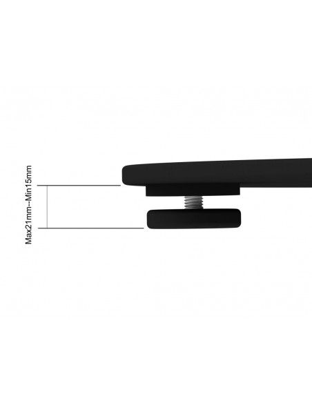 Multibrackets M Display Stand 180 Single Silver w. Floorbase Multibrackets 7350073732418 - 18