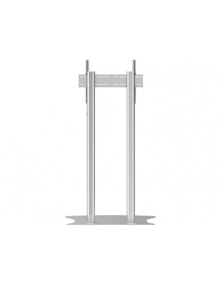 Multibrackets M Public Display Stand 180 Dual Pillar Floorbase Silver Multibrackets 7350073732555 - 4