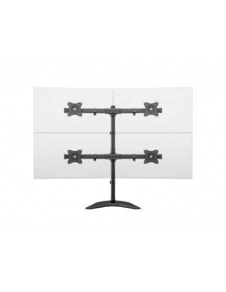 """Multibrackets 3347 monitorin kiinnike ja jalusta 68.6 cm (27"""") Vapaasti seisova Musta Multibrackets 7350073733347 - 17"""