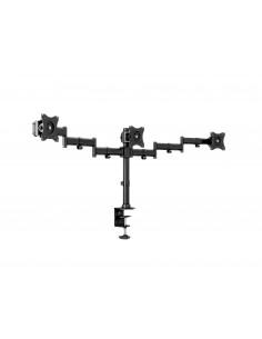 """Multibrackets 3385 monitorin kiinnike ja jalusta 68.6 cm (27"""") Puristin/Läpipultattu Musta Multibrackets 7350073733385 - 1"""