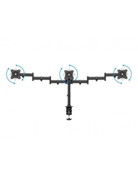 Multibrackets M Deskmount Basic Triple Multibrackets 7350073733385 - 9