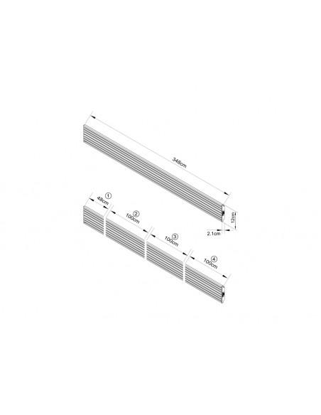 Multibrackets 3729 monitorikiinnikkeen lisävaruste Multibrackets 7350073733729 - 3