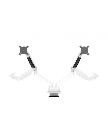 """Multibrackets 3989 monitorin kiinnike ja jalusta 81.3 cm (32"""") Puristin Valkoinen Multibrackets 7350073733989 - 7"""