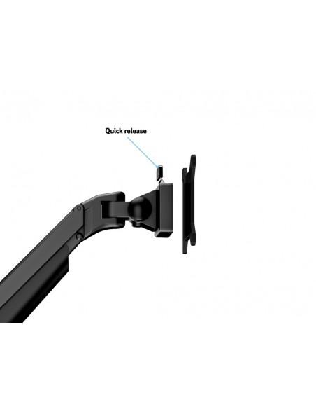 """Multibrackets 4207 monitorin kiinnike ja jalusta 81.3 cm (32"""") Puristin Musta Multibrackets 7350073734207 - 11"""