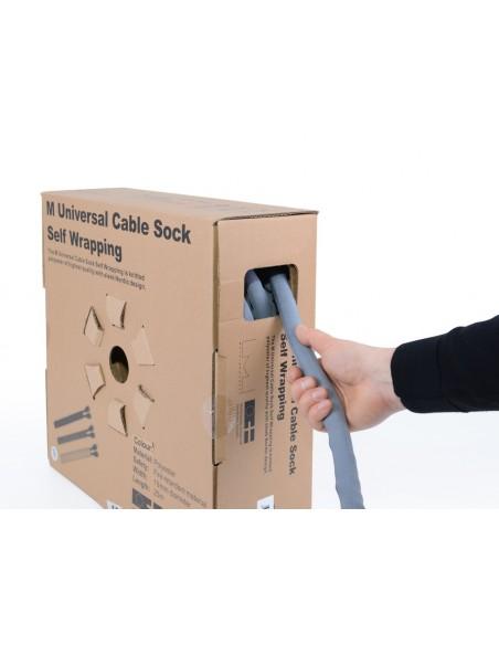 Multibrackets M Universal Cable Sock Self Wrapping 25mm Yellow 25m Multibrackets 7350073734504 - 10