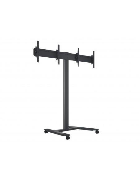 Multibrackets M Public Display Stand 180 HD Dual Black Multibrackets 7350073735358 - 1