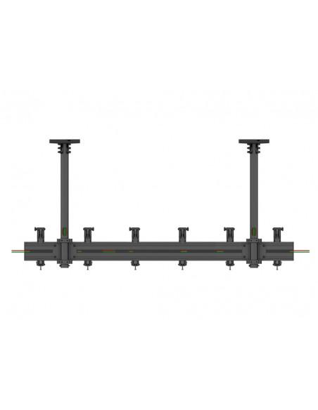 """Multibrackets 5662 kyltin näyttökiinnike 81.3 cm (32"""") Musta Multibrackets 7350073735662 - 7"""