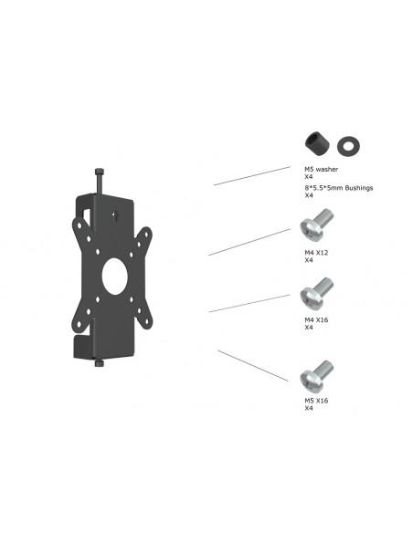 Multibrackets M Monitor Mount Fixed Pro 50/75/100 Multibrackets 7350073736300 - 4