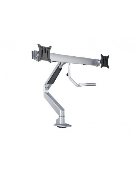 Multibrackets M VESA Gas Lift Arm w. Duo Crossbar 2 Silver Multibrackets 7350073736362 - 2