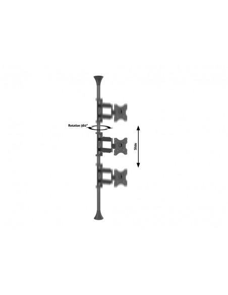 """Multibrackets 6393 kyltin näyttökiinnike 116.8 cm (46"""") Musta Multibrackets 7350073736393 - 9"""