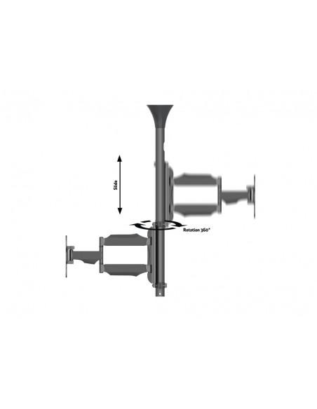 """Multibrackets 6416 kyltin näyttökiinnike 106.7 cm (42"""") Musta Multibrackets 7350073736416 - 9"""