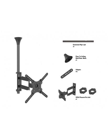 """Multibrackets 6423 kyltin näyttökiinnike 106.7 cm (42"""") Musta Multibrackets 7350073736423 - 7"""