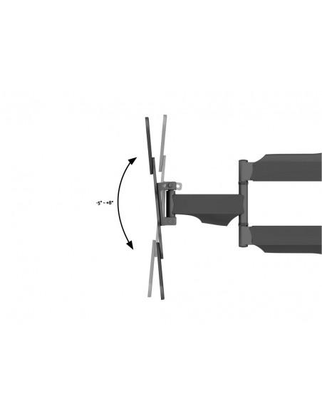 """Multibrackets 6423 kyltin näyttökiinnike 106.7 cm (42"""") Musta Multibrackets 7350073736423 - 8"""