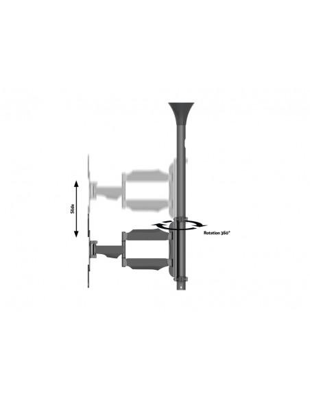 """Multibrackets 6423 kyltin näyttökiinnike 106.7 cm (42"""") Musta Multibrackets 7350073736423 - 9"""