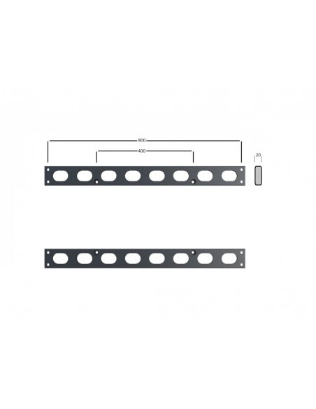 Multibrackets M Extender Kit Push SD 800x400 Multibrackets 7350073736508 - 7