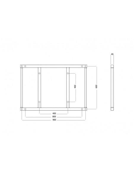 Multibrackets 6515 monitorikiinnikkeen lisävaruste Multibrackets 7350073736515 - 7