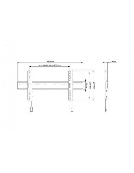 Multibrackets M OLED Super Slim Fixed Multibrackets 7350073736553 - 8