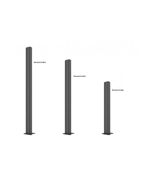 Multibrackets M Pro Series - Bolt Down Floor Plate Multibrackets 7350073736584 - 8