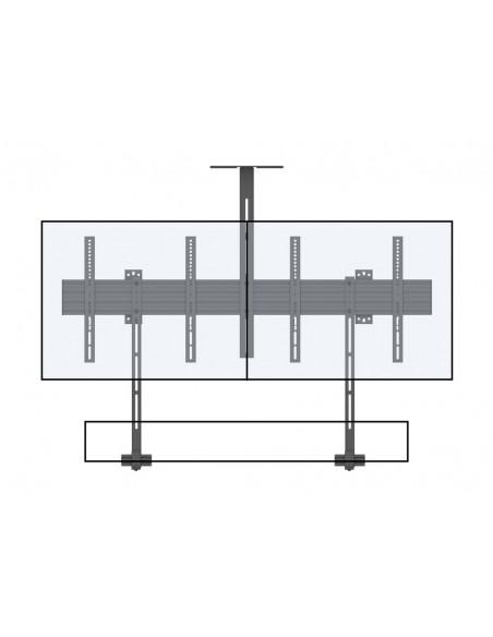 """Multibrackets 6621 kyltin näyttökiinnike 165.1 cm (65"""") Musta Multibrackets 7350073736621 - 12"""