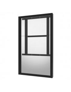 """Peerless EWP-OH75F signage display mount 190.5 cm (75"""") Black Peerless EWP-OH75F - 1"""