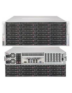 Supermicro SuperServer 6049P-E1CR36L C624 LGA 3647 (Socket P) Teline ( 4U ) Musta Supermicro 8600274318 - 1
