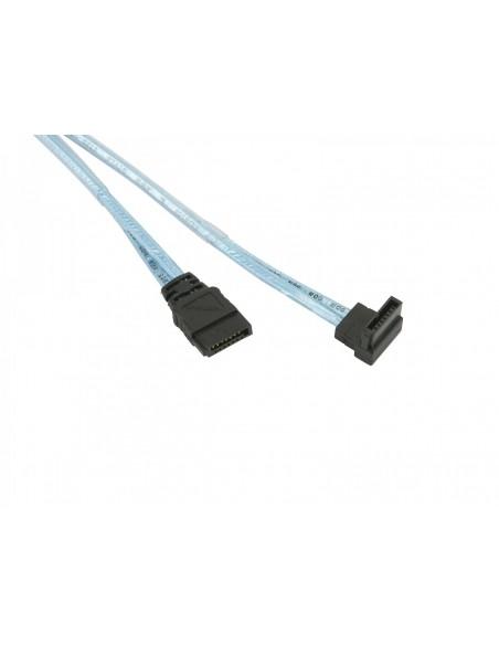 Supermicro CBL-0227L SATA-kablar 0.48 m Blå Supermicro CBL-0227L - 2
