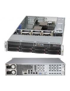 Supermicro SuperChassis 825TQC-R740WB Teline Musta 740 W Supermicro CSE-825TQC-R740WB - 1