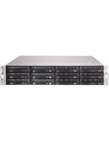 Supermicro 826BE1C-R741JBOD Teline Musta 740 W Supermicro CSE-826BE1C-R741JBOD - 1