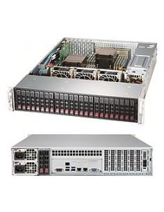 Supermicro SuperStorage Server 2028R-E1CR24H Intel® C612 LGA 2011 (Socket R) Rack (2U) Svart Supermicro SSG-2028R-E1CR24H - 1