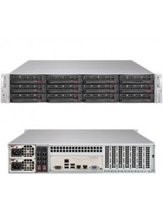 Supermicro SuperServer 6029P-E1CR12H LGA 3647 (Socket P) Rack (2U) Svart Supermicro SSG-6029P-E1CR12H - 1