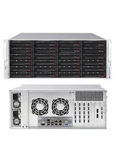 Supermicro SuperServer 6048R-E1CR24N Intel® C612 LGA 2011 (Socket R) Rack (4U) Black Supermicro SSG-6048R-E1CR24N - 1