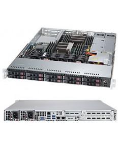 Supermicro 1028R-WTNRT Intel® C612 LGA 2011 (Socket R) Rack (1U) Svart Supermicro SYS-1028R-WTNRT - 1
