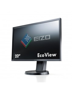 "EIZO FlexScan EV2216WFS3 55.9 cm (22"") 1680 x 1050 pixels WSXGA+ LED Black Eizo EV2216WFS3-BK - 1"
