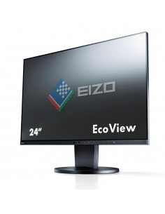 "EIZO FlexScan EV2450 60.5 cm (23.8"") 1920 x 1080 pixlar Full HD LED Svart Eizo EV2450-BK-UK - 1"
