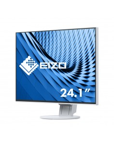 "EIZO FlexScan EV2456 61.2 cm (24.1"") 1920 x 1200 pixels WUXGA LED White Eizo EV2456-WT - 1"