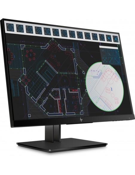 "HP Z24i G2 61 cm (24"") 1920 x 1200 pixlar WUXGA LED Svart Hp 1JS08A4#ABB - 2"