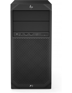HP Z2 G4 i7-8700 Tower 8th gen Intel® Core™ i7 8 GB DDR4-SDRAM 256 SSD Windows 10 Pro Workstation Black Hp 4RW80EA#UUW - 1