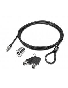 HP Master Keyed Docking Station Cable Lock kaapelilukko Musta 1.85 m Hp AY474AA - 1