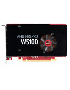 HP AMD FirePro W5100 grafikkort på 4 GB Hp J3G92AA - 1