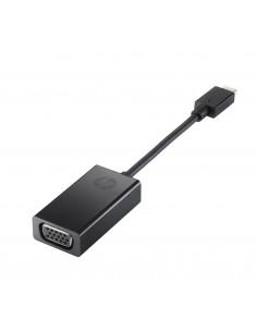 HP N9K76AA kaapeli liitäntä / adapteri USB Type-C VGA Musta Hp N9K76AA - 1