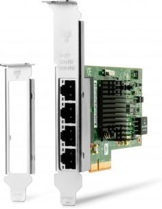 HP Intel Ethernet I350-T4 4-Port 1Gb NIC 1000 Mbit/s Sisäinen Hp W8X25AA - 1